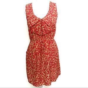 BeBop Sleeveless Leopard Print Dress Size L
